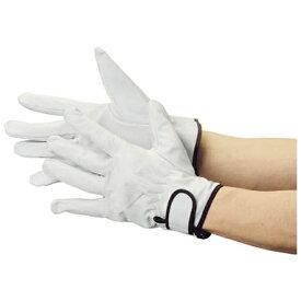 トラスコ中山 マジック式革手袋 スタンダードタイプ フリーサイズ JK717