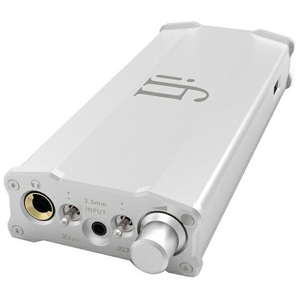 【送料無料】 IFIAUDIO 【ハイレゾ音源対応】ヘッドホンアンプ DAC付 MICROIDSD