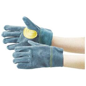 トラスコ中山 オイル加工革手袋 当て付 フリーサイズ TYK107BH