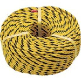 トラスコ中山 標識ロープ 3つ打 線径7.5mmX長さ100m R9100T