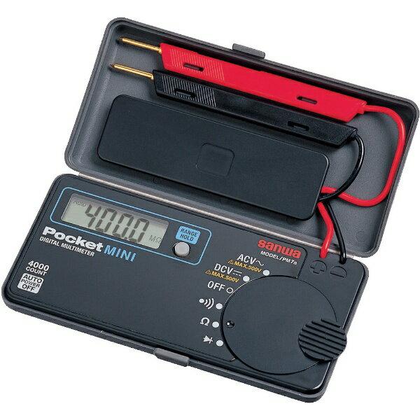 三和電気計器 ポケット型デジタルマルチメータ PM7A