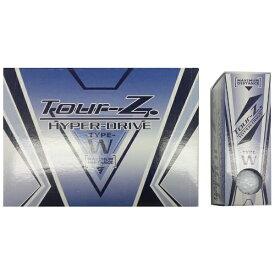朝日ゴルフ用品 ASAHI GOLF 【ビックカメラグループオリジナル】ゴルフボール Tour-Z. HYPER-DRIVE -TYPE- W ホワイト TZHDBC1408 [12球(1ダース) /ディスタンス系]