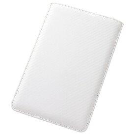 レイアウト rayout GALAXY Tab S 8.4用 合皮レザージャケット スリーブタイプ (カーボンホワイト) RT-GTABS8LC5/W[RTGTABS8LC5W]