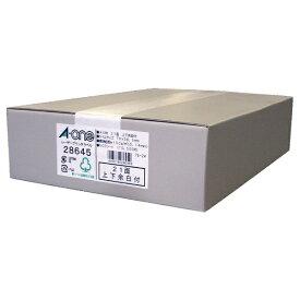 エーワン A-one レーザープリンタラベル ホワイト 28645 [A4 /500シート /21面 /マット][宛名シール]