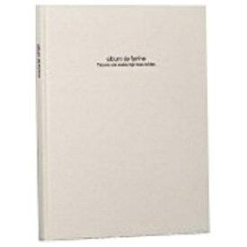 ナカバヤシ Nakabayashi 100年台紙アルバム「ドゥ ファビネ」(A4ノビ台紙) アH-A4PB-181-W[アHA4PB181W]