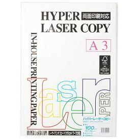 伊東屋 ito-ya ハイパーレーザーコピー ナチュラルホワイト (A3/100g・100枚) HP211[HP211]【wtcomo】