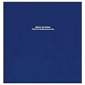 ナカバヤシ Nakabayashi 100年台紙「ドゥファビネ」 (Lサイズ/ダークブルー) アH-LD-191-DB[アHLD191DB]
