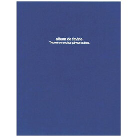 ナカバヤシ Nakabayashi 100年台紙アルバム/ドゥファビネ(A4サイズ/フエルアルバム/ダークブルー)アH-A4D-161-DB[アHA4D161DB]