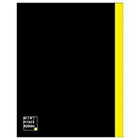 ハクバ HAKUBA アルバム 「ミニピタットアルバム・ブラック/イエロー」(L・カビネ・ポストカードサイズ)