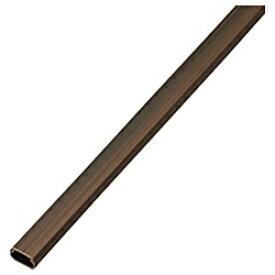 エレコム ELECOM フラットモール 木目タイプ (長さ1m×幅22mm) LD-GAF2/WD[LDGAF2]
