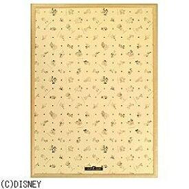 テンヨー 【木製2000ピース用】ディズニー専用パネル (ナチュラルブラウン)