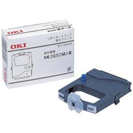 OKI オキ RN6-00-009 リボンカートリッジ (6巻) ブラック[RN600009]【wtcomo】