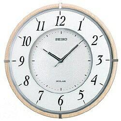 セイコー SEIKO ソーラー電波掛け時計 「ソーラープラス」 SF501B