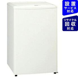パナソニック Panasonic 《基本設置料金セット》NR-A80W-W 冷蔵庫 ノンフロン冷蔵庫 オフホワイト [1ドア /右開きタイプ /75L][冷蔵庫 小型 NRA80W_W]【zero_emi】【point_rb】