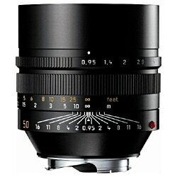 ライカ カメラレンズ ノクティルックス M f0.95/50mm ASPH.【ライカMマウント】(ブラック)[ノクティルックスM09550MMASPH]