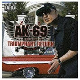 ソニーミュージックマーケティング AK-69 aka KALASSY NIKOFF/TRIUMPHANT RETURN〜Redsta iz Back〜【CD】