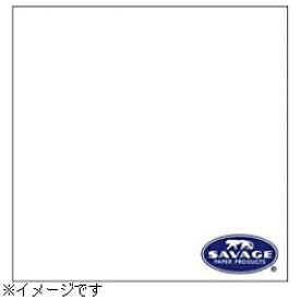 サベージ SAVAGE 【サベージ背景紙】バックグラウンドペーパー(No.01 スーパーホワイト) 2×11m[RL01122C] 【メーカー直送・代金引換不可・時間指定・返品不可】