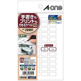 エーワン A-one マルチラベル 手書きもプリントもできるラベル 26001 [はがき /12シート /48面 /マット]【rb_mmme】