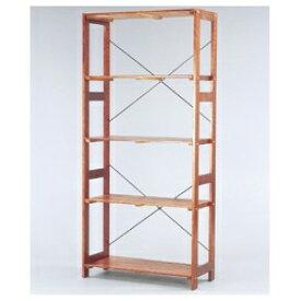 アイリスオーヤマ IRIS OHYAMA ウッディラック(高さ179×幅83.5×奥行35cm) WOR-8318 ブラウン[WOR8318]