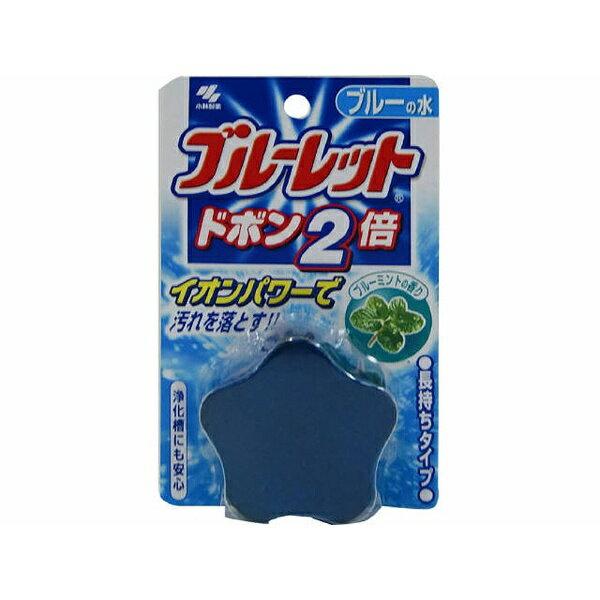 小林製薬 ブルーレットドボン 2倍 ブルーミントの香り ブルーの水〔トイレ用洗剤〕