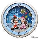 【送料無料】 セイコー 掛け時計 「ディズニータイム」 FW568W 【メーカー直送・代金引換不可・時間指定・返品不可】