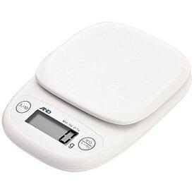 A&D エー・アンド・デイ デジタルスケール(1kg) UH-3301-W ホワイト[UH3301W]