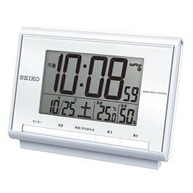 セイコー SEIKO 電波デジタル目覚まし時計 SQ698S[SQ698S]