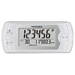 山佐時計計器 歩数計 「ポケット万歩」 EX-500-W ピュアホワイト[EX500W]