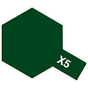 タミヤカラー エナメル塗料 光沢 X5 グリーン 10ml 80005