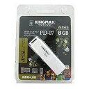 KINGMAX USBメモリ Kingmax (8GB・ホワイト) U-Drive PD-07 8GB[PD078GB]