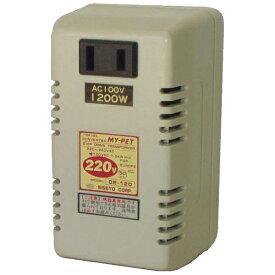 日章工業 NISSYO INDUSTRY 変圧器 (ダウントランス・熱器具専用) DE-120[DE120]