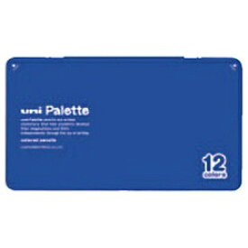 三菱鉛筆 MITSUBISHI PENCIL [色鉛筆] No.880 uni Palette 青 12色 K88012CPLT.33[K88012CPLT.33]