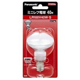 パナソニック Panasonic LR100V40WS 電球 ミニレフ電球 ホワイト [E17 /1個 /レフランプ形][LR100V40WS]