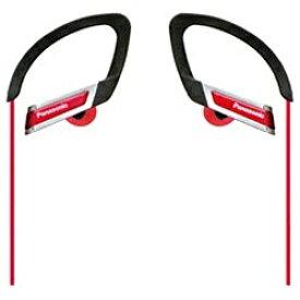 パナソニック Panasonic RP-HS200-R 耳かけ型 レッド RP-HS200 [防滴 /φ3.5mm ミニプラグ][RPHS200R] panasonic