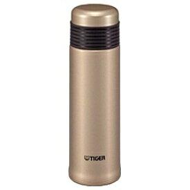 タイガー TIGER ステンレスボトル 400ml SAHARASLIM(サハラスリム) シャンパンゴールド MSE-A040-NT[MSEA040NT]