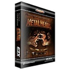 クリプトン・フューチャー・メディア Crypton Future Media TOONTRACK 〔Win・Mac版〕 EZX METAL HEADS[EZXMHEZXMETALHEADS]