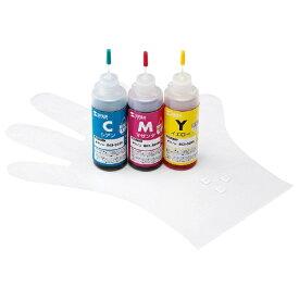 サンワサプライ SANWA SUPPLY INK-C326S60 詰め替えインク 3色[INKC326S60]【wtcomo】