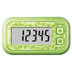 山佐時計計器 YAMASA EX-200-G 歩数計 ポケット万歩 らくらくまんぽ エコグリーン [装着フリー][EX200G]