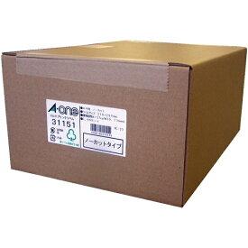 エーワン A-one ラベルシール プリンタ兼用 ホワイト 31151 [A4 /1000シート /1面 /マット]【rb_mmme】