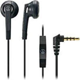 オーディオテクニカ audio-technica イヤホン インナーイヤー型 ATH-C505I BK ブラック [リモコン・マイク対応 /φ3.5mm ミニプラグ][ATHC505IBK]