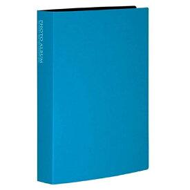 セキセイ SEKISEI フォトアルバム(高透明)(Lサイズ160枚収容/ブルー) KP-160-BU[KP160]