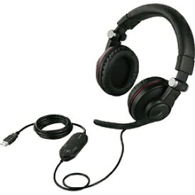 BUFFALO バッファロー BSHSUH05BK ゲーミングヘッドセット ブラック [USB / 両耳 / ヘッドバンドタイプ][BSHSUH05BK]
