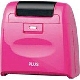 プラス PLUS 個人情報保護スタンプ ローラーケシポンワイド(ピンク) IS-510CMPK[IS510CMPK]