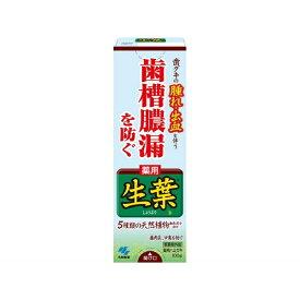 生葉 歯磨き粉 100g【wtcool】小林製薬 Kobayashi