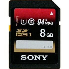 ソニー SONY SDHCカード SF-UXシリーズ SF-8UX [8GB /Class10][SF8UX]
