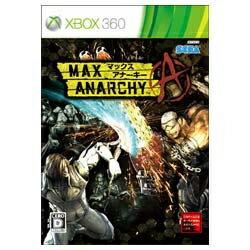 セガゲームス SEGA Games MAX ANARCHY(マックス アナーキー) 【Xbox360ゲームソフト】[MAXANARCHY]