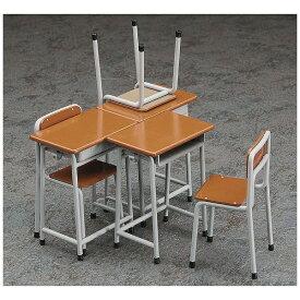 長谷川製作所 Hasegawa 1/12 学校の机と椅子【代金引換配送不可】