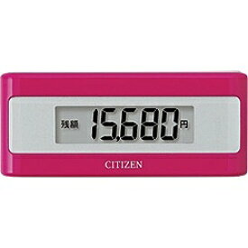 シチズンシステムズ CITIZEN SYSTEMS TWTC501-PK 歩数計 ピンク [装着フリー][TWTC501PK]