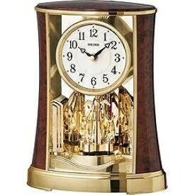 セイコー SEIKO 置き時計 ブラウン BY427B