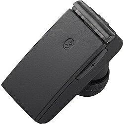 BUFFALO バッファロー スマートフォン対応[Bluetooth4.0] 片耳ヘッドセット USB充電ケーブル付 (ブラック) BSHSBE23BK